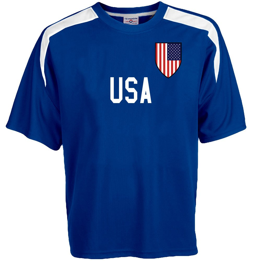 Custom USA Soccer Jersey Personalized with Your Names and Numbers