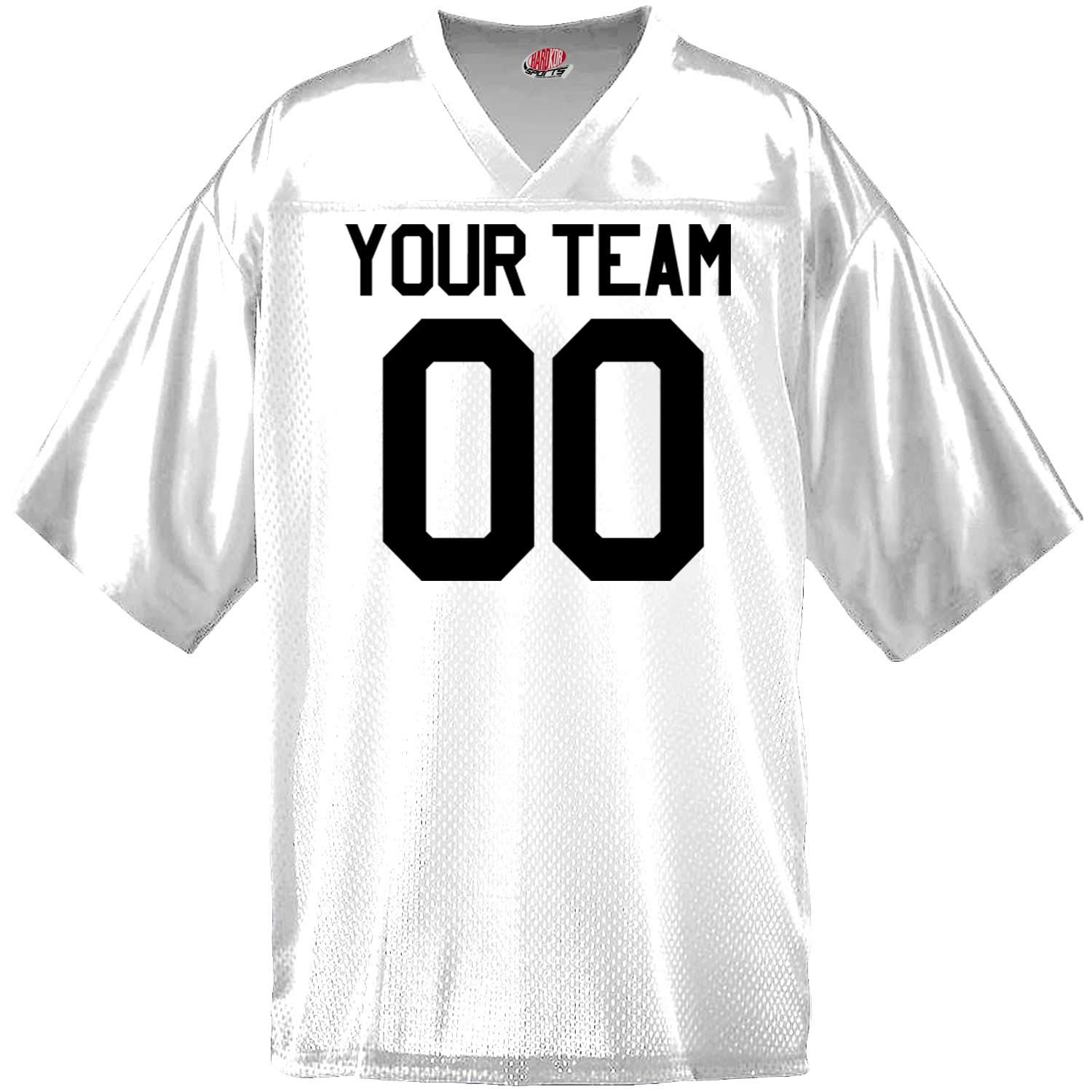 Custom Football Jersey for Youth and Adult You Design Online with Your Names and Numbers