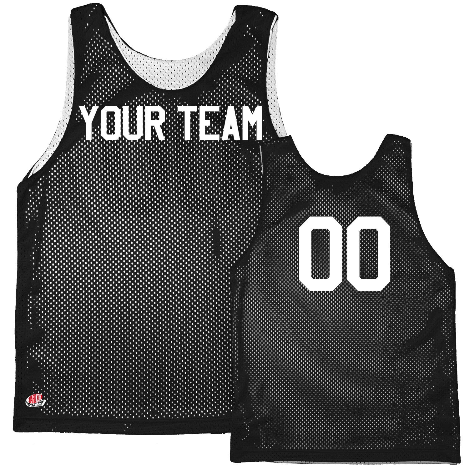 Basic Reversible Custom Basketball Jersey with Team Name and Player Number