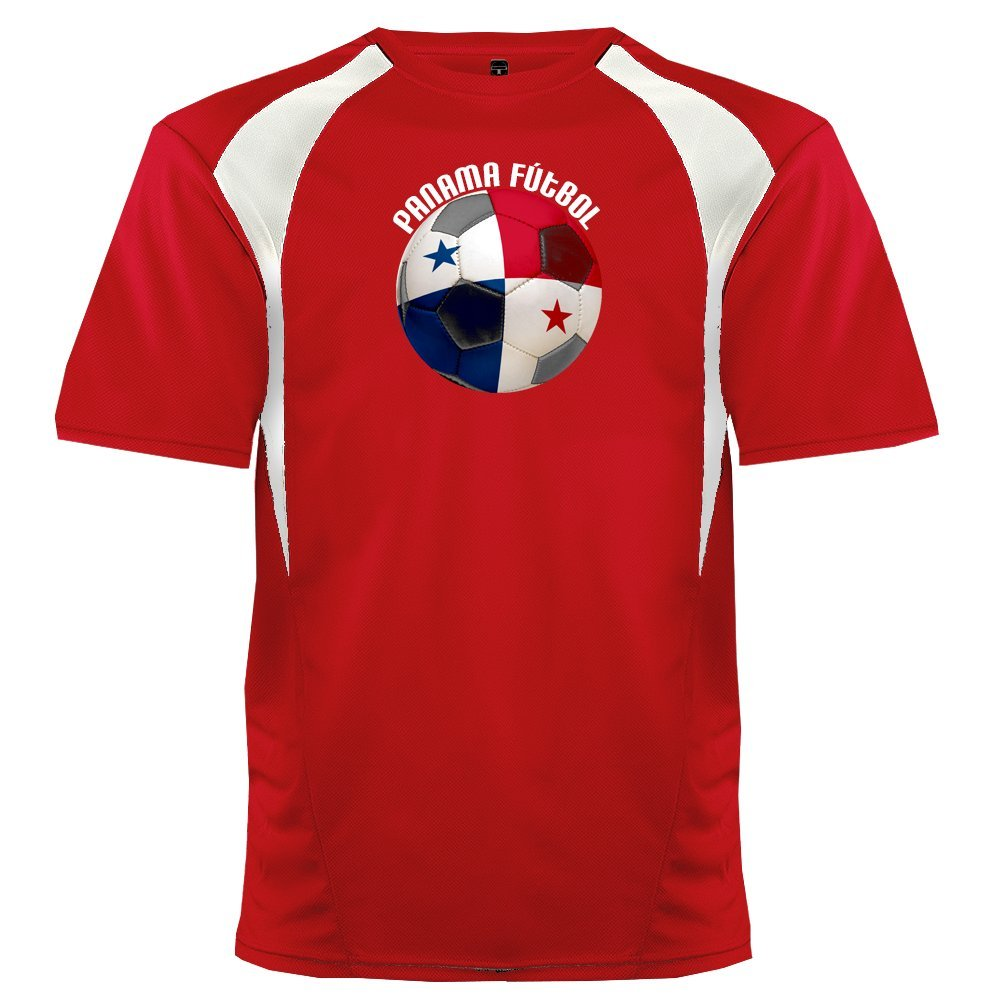 Custom Panama Soccer Ball 2 Jersey Personalized with Your Names and Numbers