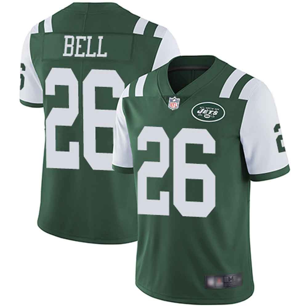 sneakers for cheap 967c1 90d4e Men's New York Jets #26 Le'Veon Bell Green Limited Home Jersey