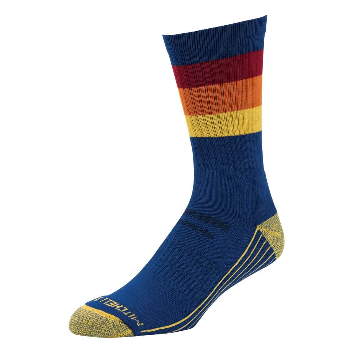 Mitchell & Ness Branded Crew Socks