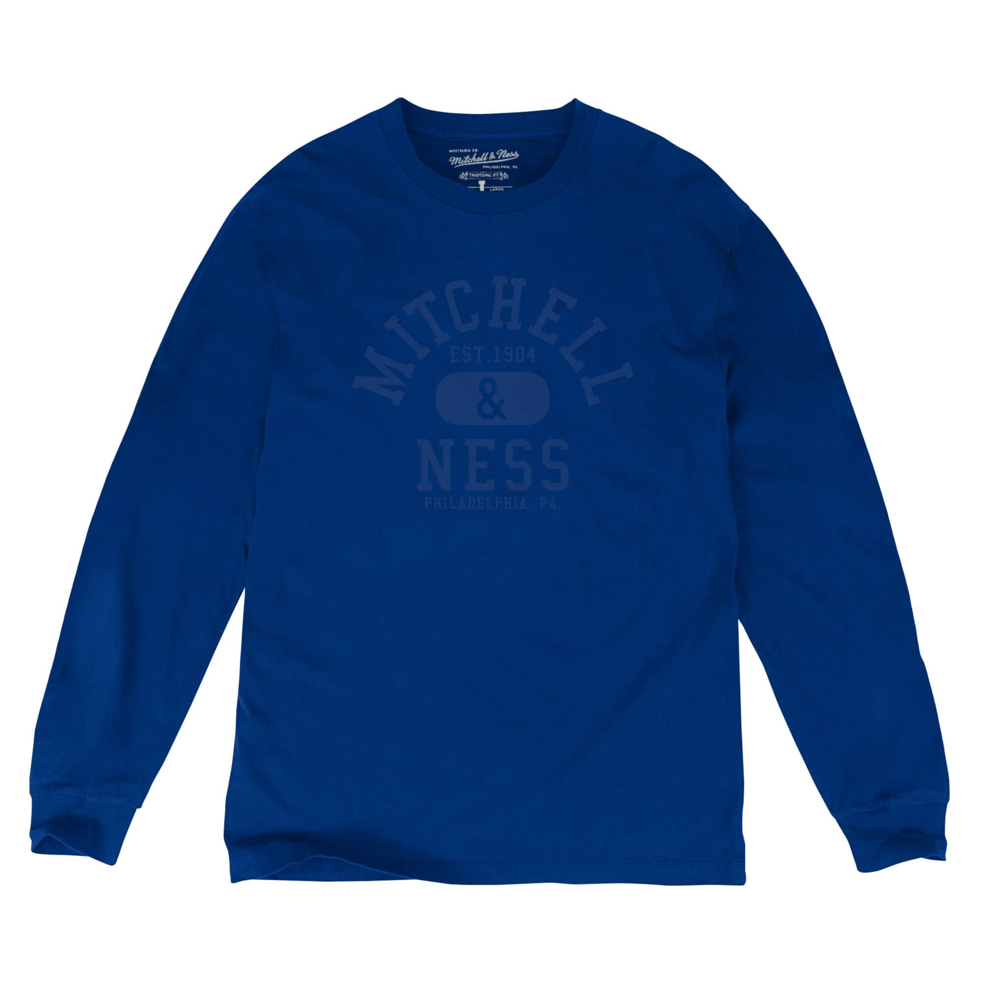Mitchell & Ness Classic College LS Tee