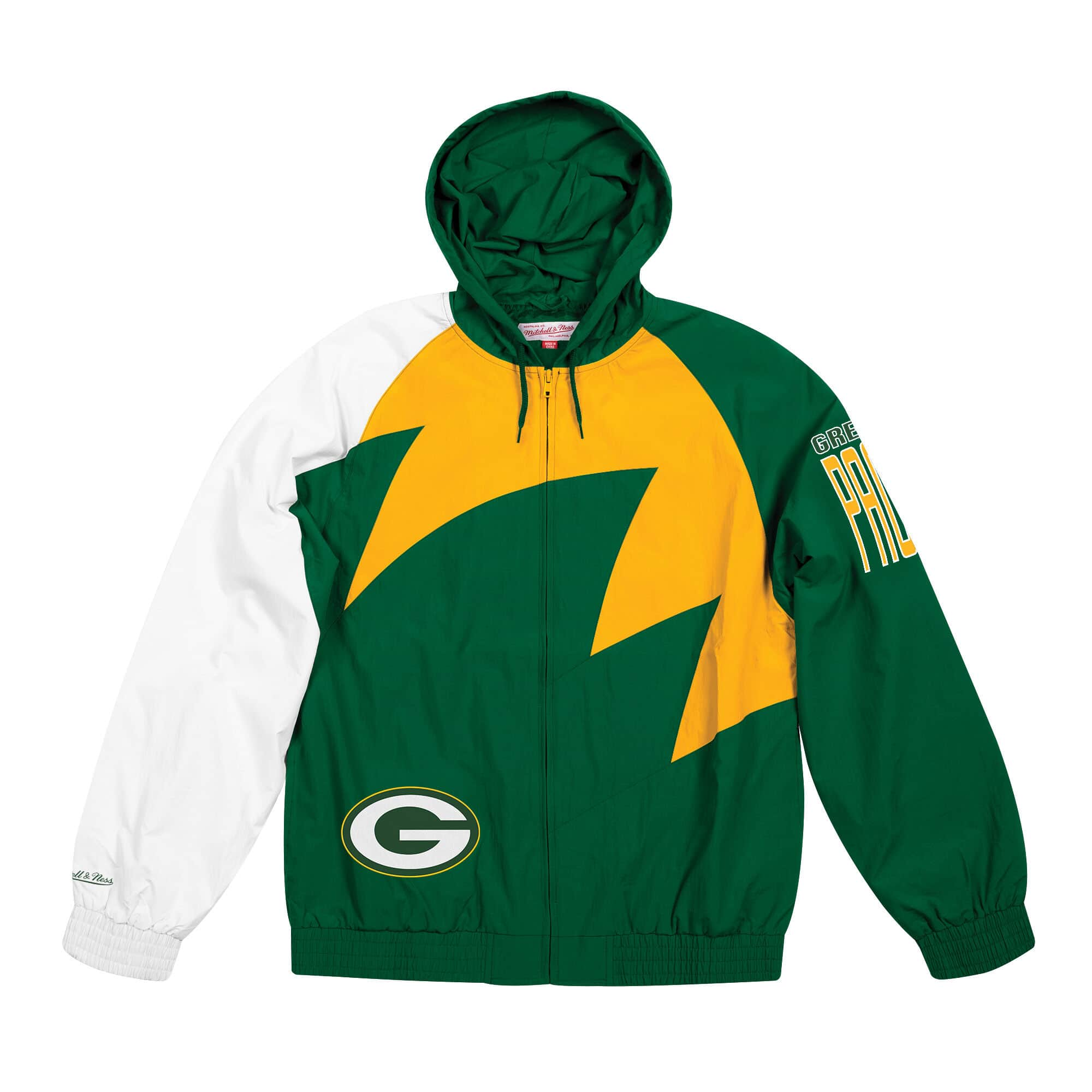 Shark Tooth Jacket Green Bay Packers