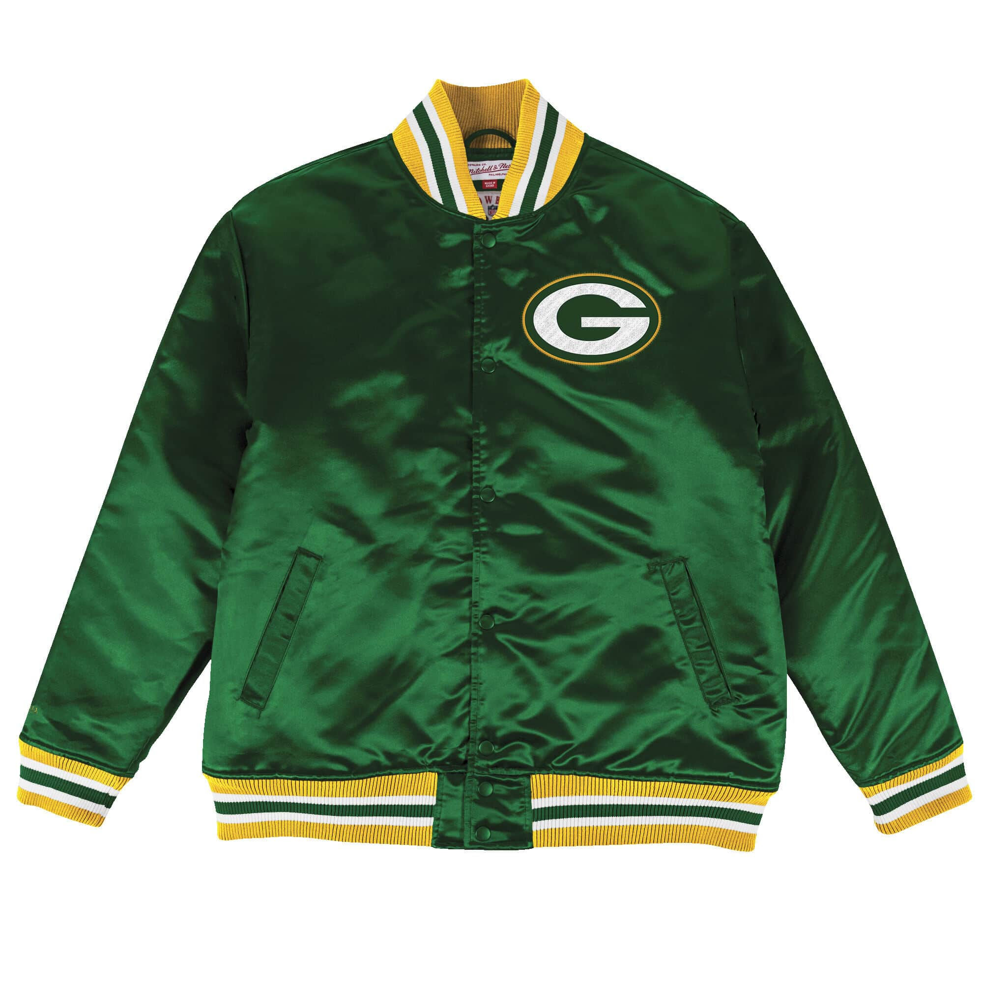 Satin Jacket Green Bay Packers