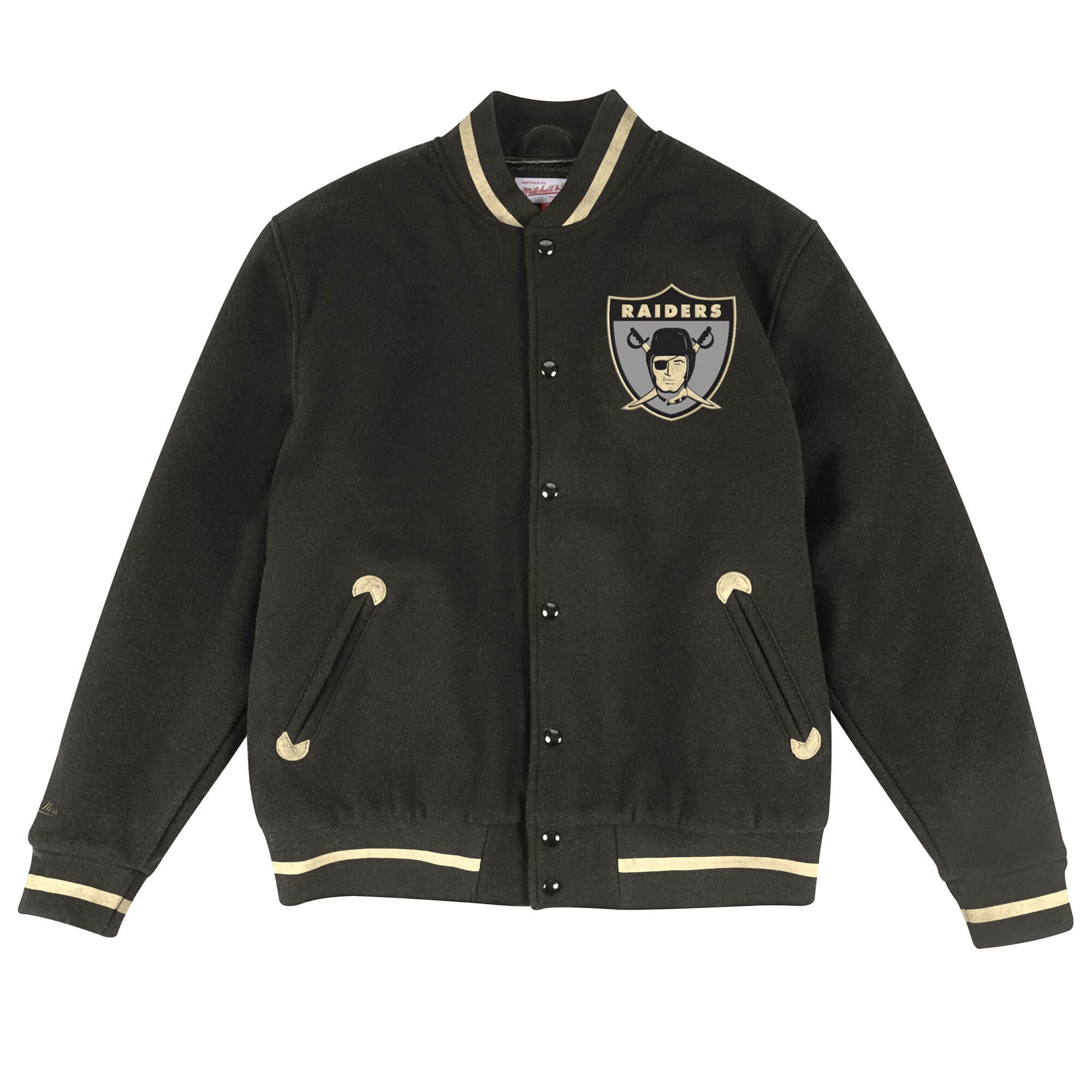 In The Stands Varsity Jacket Oakland Raiders