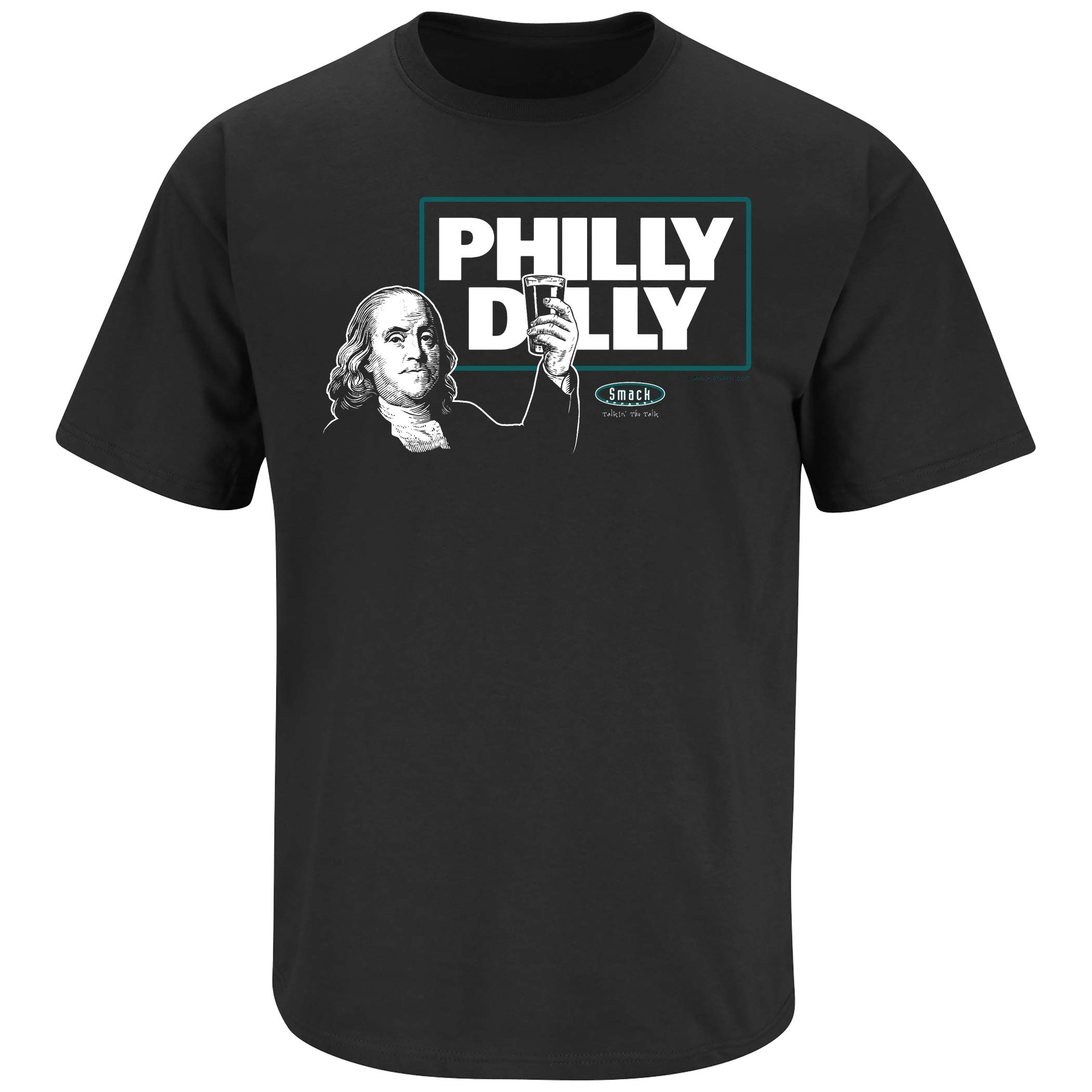 Smack Apparel Philadelphia Football Fans. Philly Dilly T-Shirt (Sm-5X)
