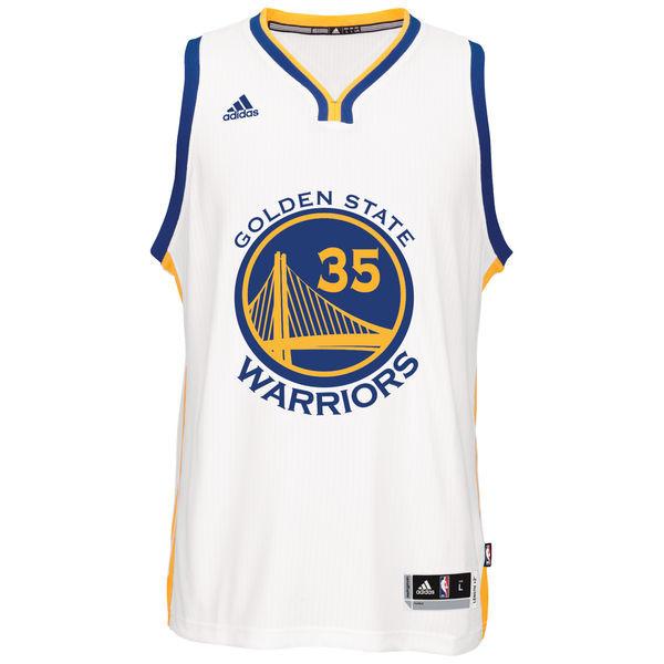 NBA Golden State Warriors Kevin Durant Jersey Adidas SWINGMAN