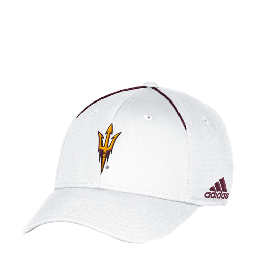 NCAA Arizona State Sun Devils Adidas Coach Structured Flex Cap