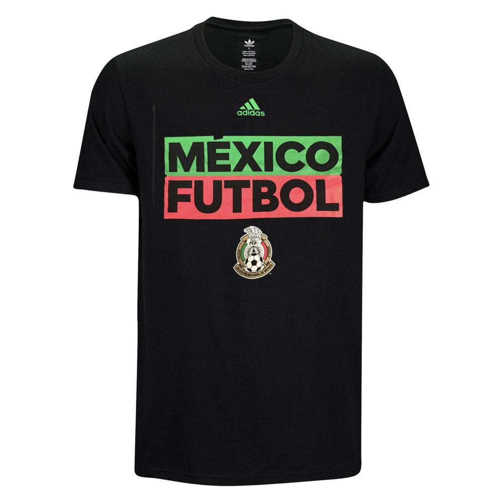 Mexico National Team Adidas Box Tee - Black