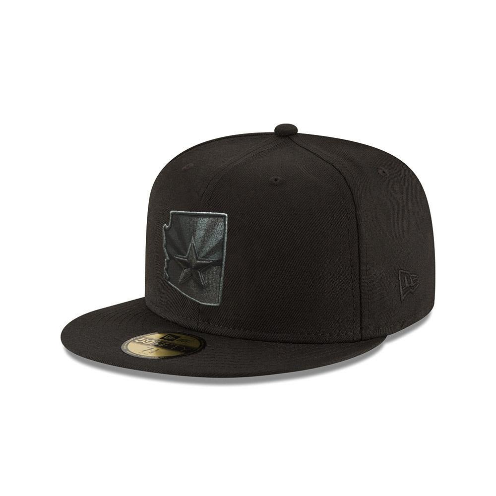 Arizona State Black Flag Logo JSE 59FIFTY - Black