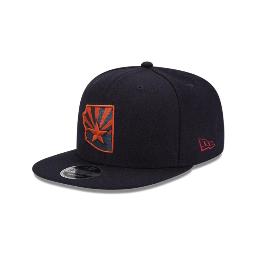 Arizona State Flag Red Logo JSE 9FIFTY - Navy