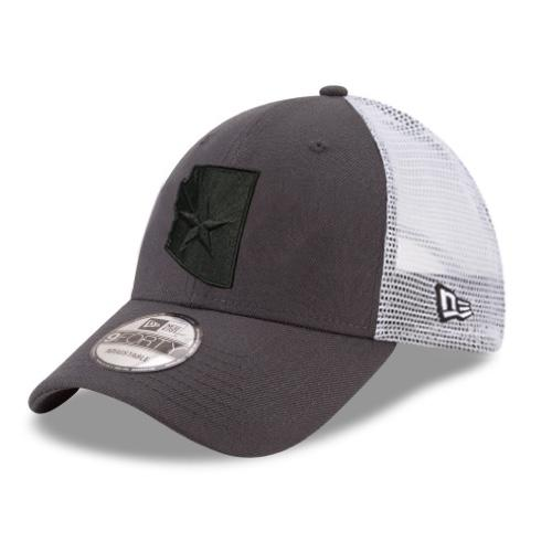 Arizona Shadow Tech New Era Trucker 9FORTY - Charcoal