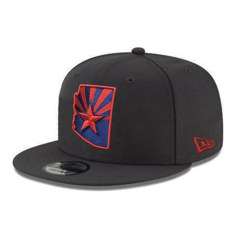 Arizona State Flag Red Logo JSE 9FIFTY - Graphite
