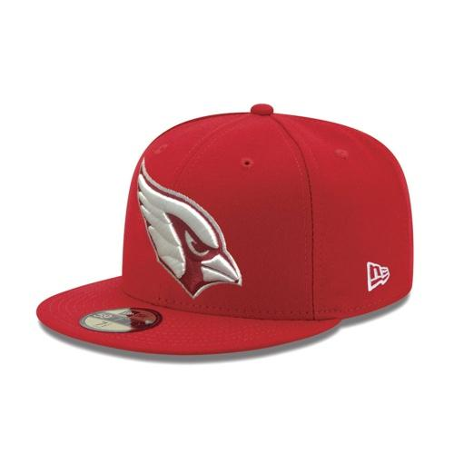 NFL Arizona Cardinals White Wall New Era Fitted 59FIFTY JSE Hat