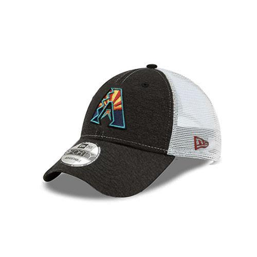 MLB Arizona Diamondbacks Shadow Tech JSE New Era Trucker 9FORTY - Grey