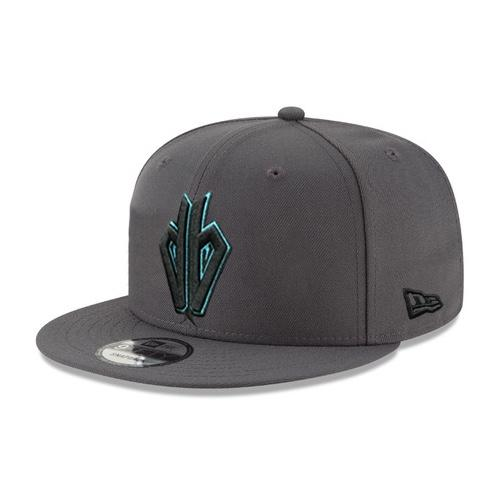 MLB Arizona Diamondbacks DB Teal Outline JSE New Era 59FIFTY - Graphite
