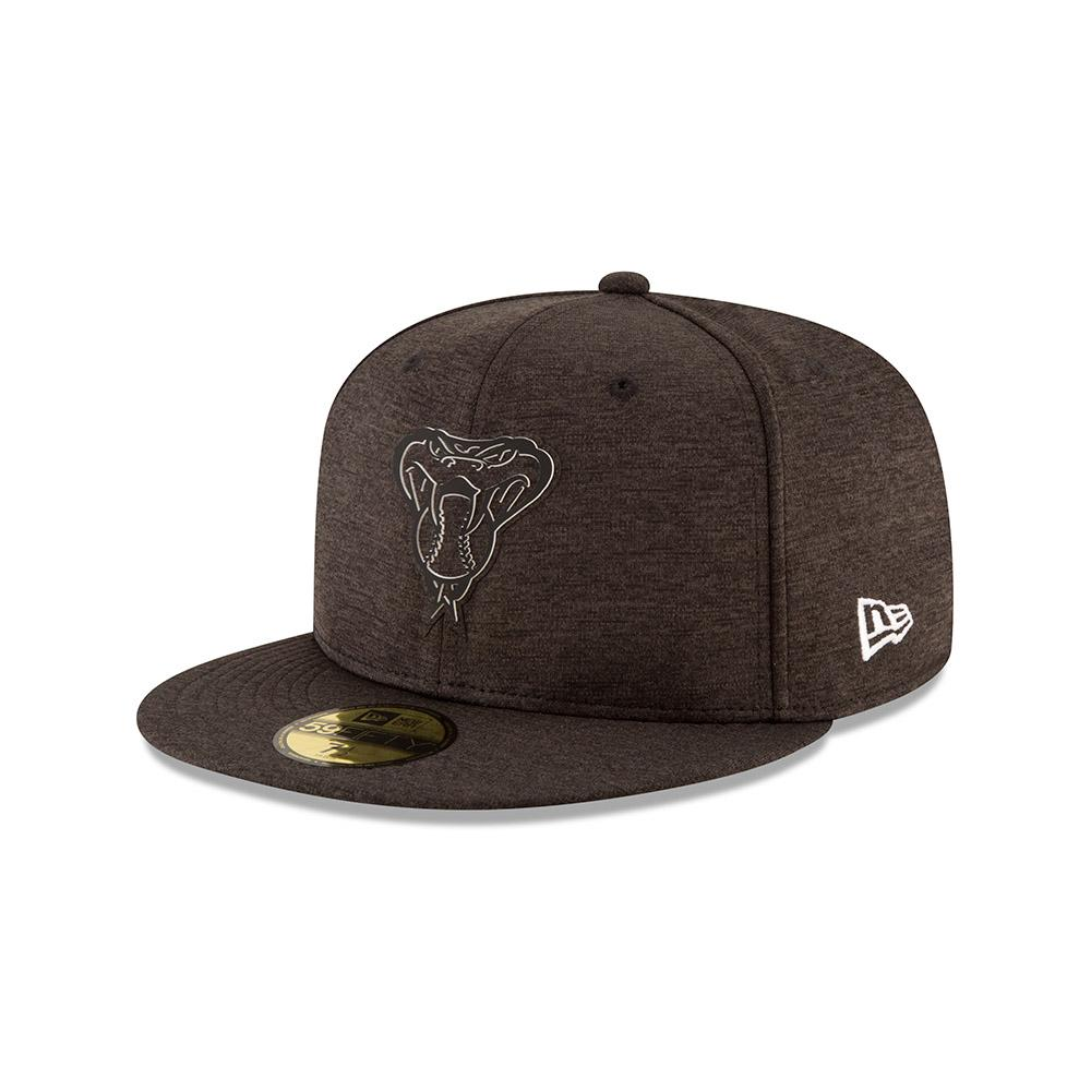 MLB ARIZONA DIAMONDBACKS ERA 2018 CLUBHOUSE COLLECTION 59FIFTY - BLACK