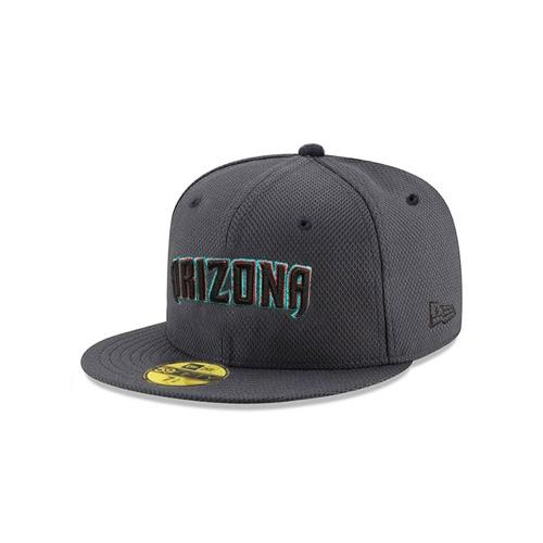 MLB Arizona Diamondbacks Away Alt Jersey Outline JSE New Era 59FIFTY - Graphite