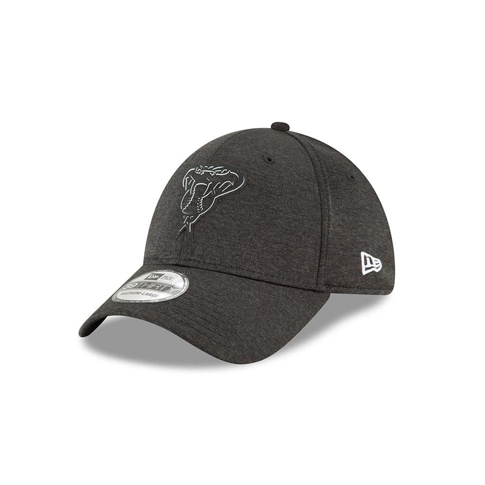 MLB ARIZONA DIAMONDBACKS NEW ERA 2018 CLUBHOUSE COLLECTION 39THIRTY - BLACK