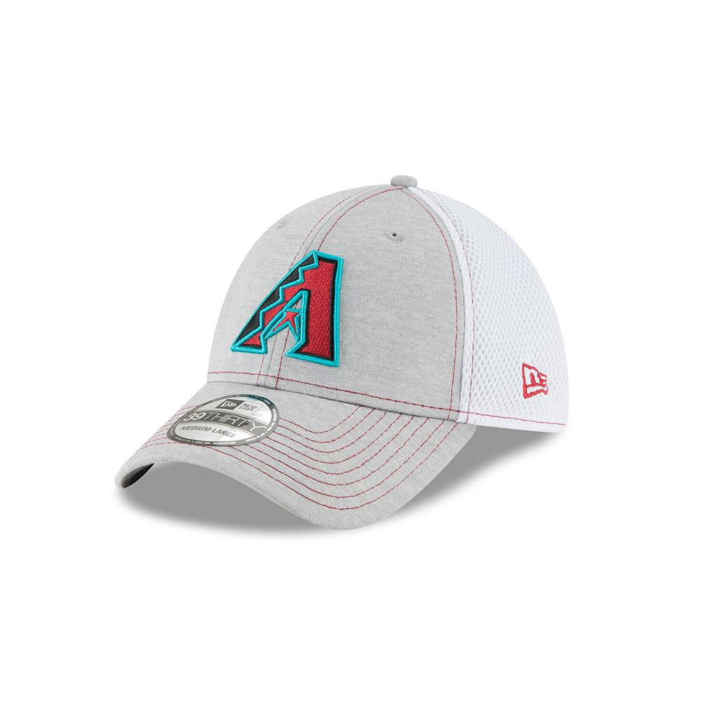 MLB Arizona Diamondbacks Classic Shade New Era 39THIRTY - Grey