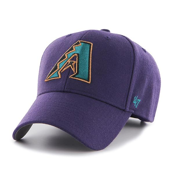 "MLB Arizona Diamondbacks ""A"" 'Cooperstown 47 MVP - Purple"