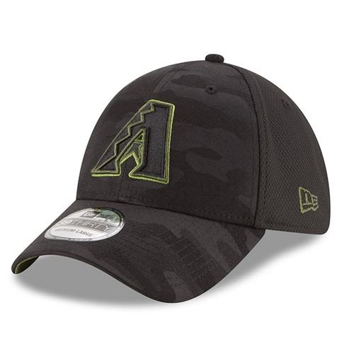 MLB Arizona Diamondback 2018 Memorial Day New Era 39THIRTY - Black