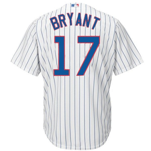 MLB Chicago Cubs Kris Bryant Youth Cool Base Majestic Twill Player Jersey