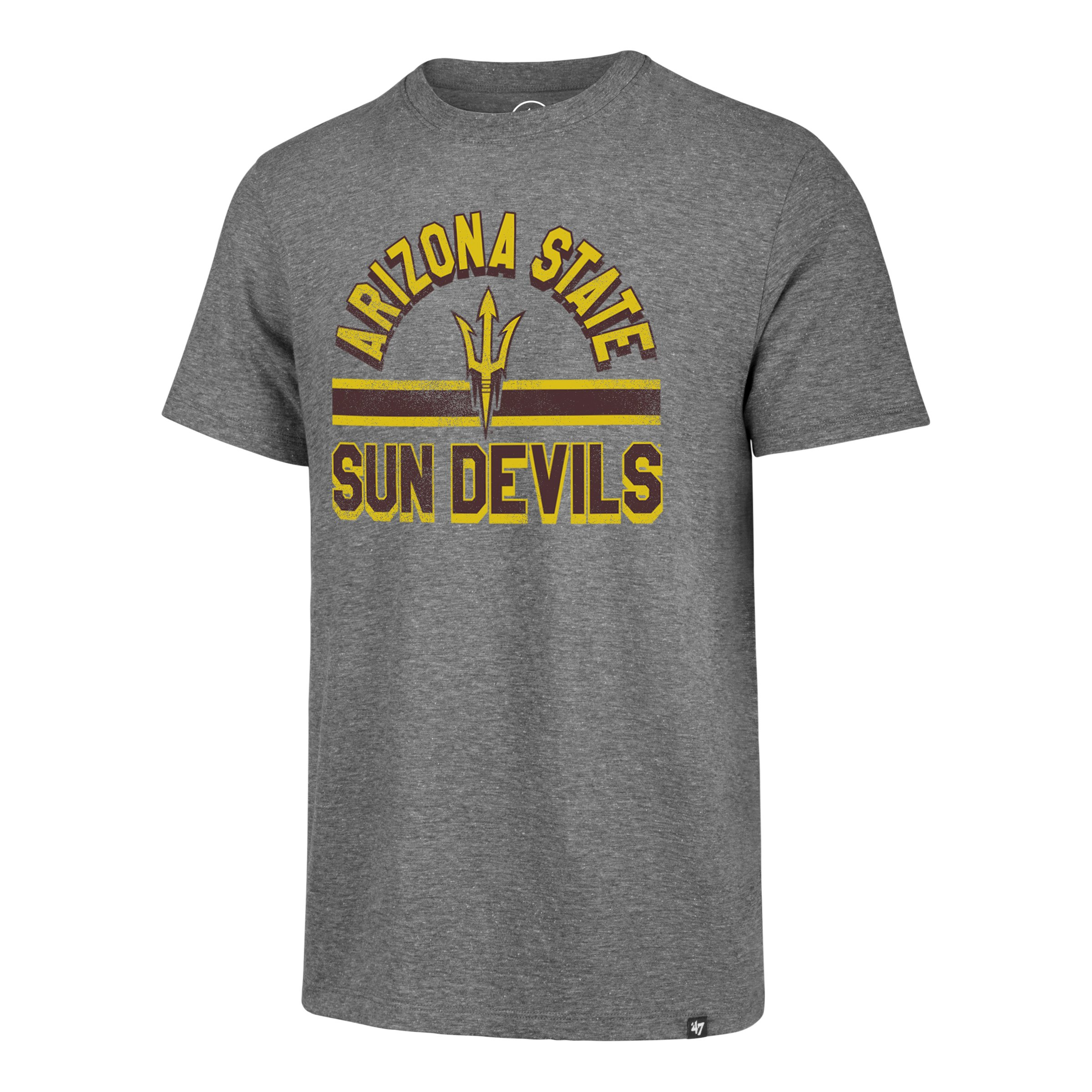 NCAA Arizona State Sun Devils '47 Team Stripe Match Tee - Grey