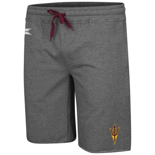 NCAA Arizona State Sun Devil Farmer Fran French Shorts - Charcoal