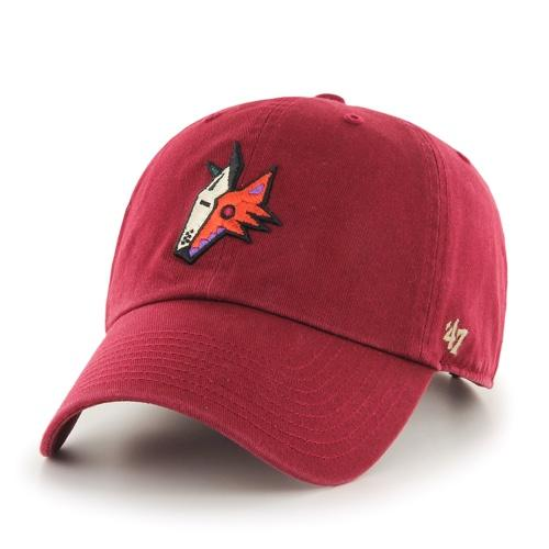 NHL Arizona Coyotes Kachina '47 Clean Up Hat - Red